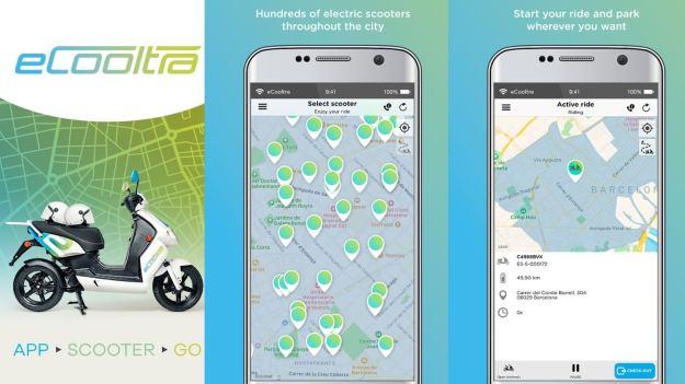eCooltra-共享電動機車