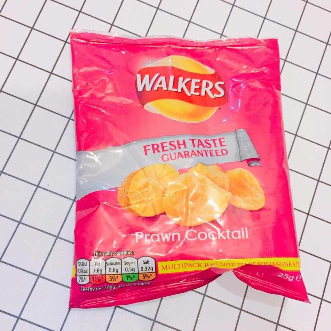 【英國】Walkers 蝦雞尾酒洋芋片