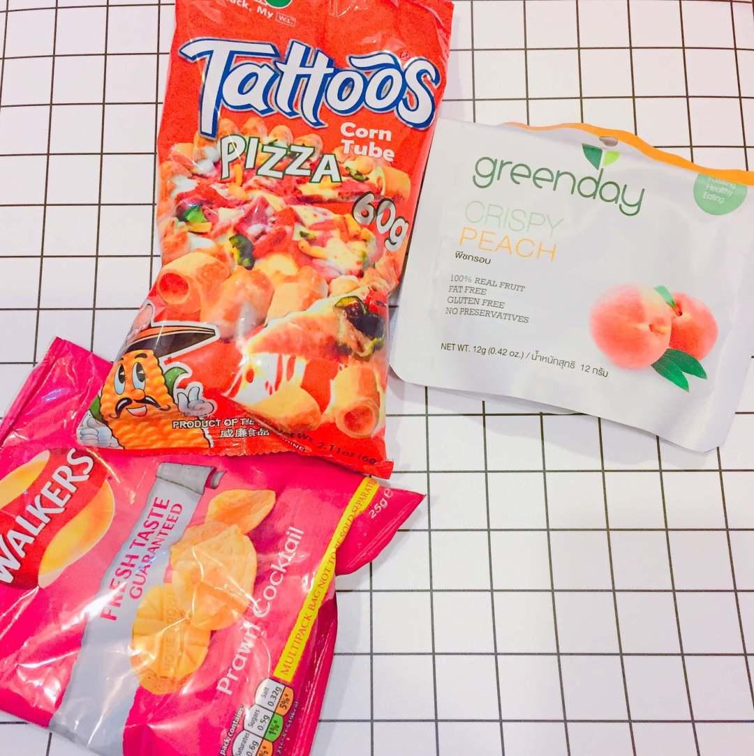 【泰國】Greenday 水蜜桃凍乾