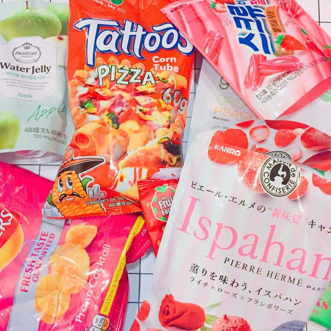 【韓國】Lotte 夾心軟糖 - 草莓 & 蘋果